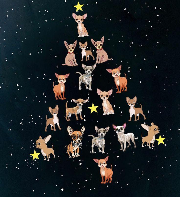 Happy Christmas....chihuahua tree