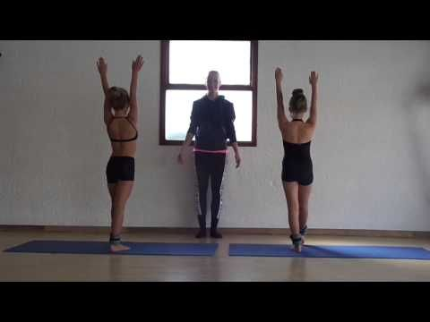 Beg  Acro Dance Lesson 1                                                                                                                                                                                 More