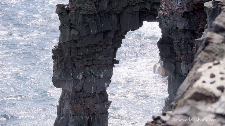 Holei sea arch close up