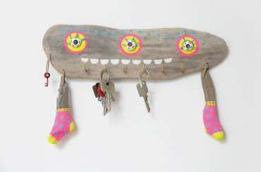 Eco-Monster Treibholz Art