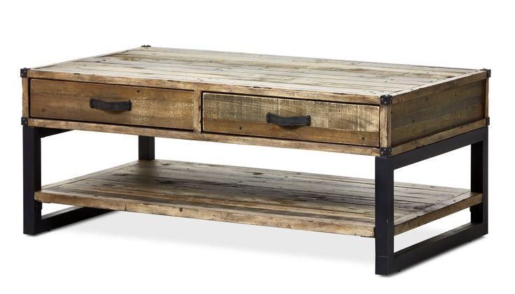 Woodenforge är ett rustikt soffbord med industriell känsla. Det har två lådor med under skivan och en praktisk avlastningshylla vilket ger bra förvaring. Det har många arbetade detaljer såsom läderhandtag, hörnbeslag i metall samt underrede i metall. Woodenforge serien inspireras utav en tid då nytt land skapades och järnvägssystem byggdes. Serien består av fsc-märkt återvunnet trä, såsom tall, lärk, gran, ek, rönn och pilträd. Varje del i serien har en äkta kolonial charm med en handgjord…