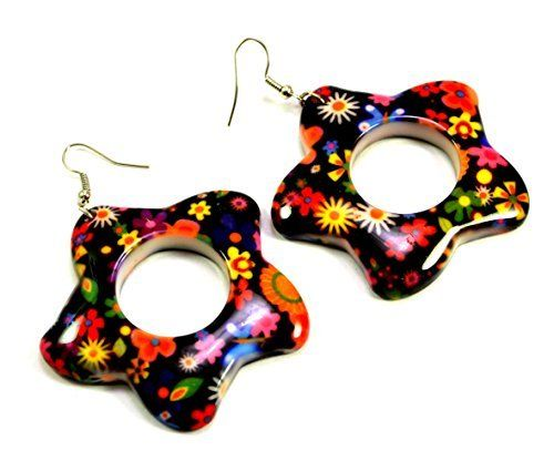 A Pair of Indian Womens Girls Cute Resin Flower Earrings Fashion Jewelry Krishna Mart India http://www.amazon.com/dp/B00UN9445U/ref=cm_sw_r_pi_dp_BW.xwb1TYEB2V