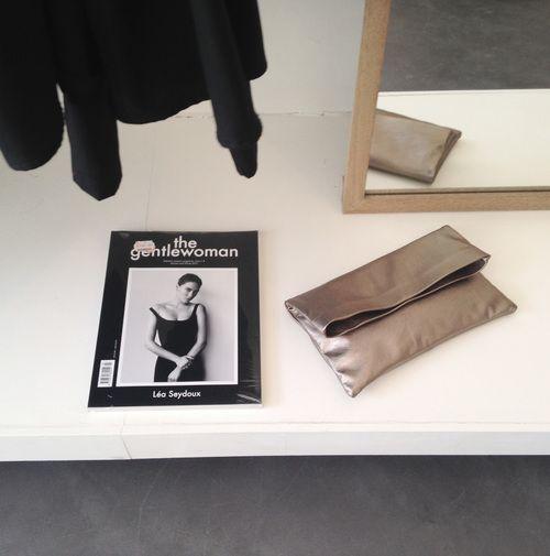 Take Care | Fold Bag / Metallic Nappa Leather R690 | info@takecareclothing.com