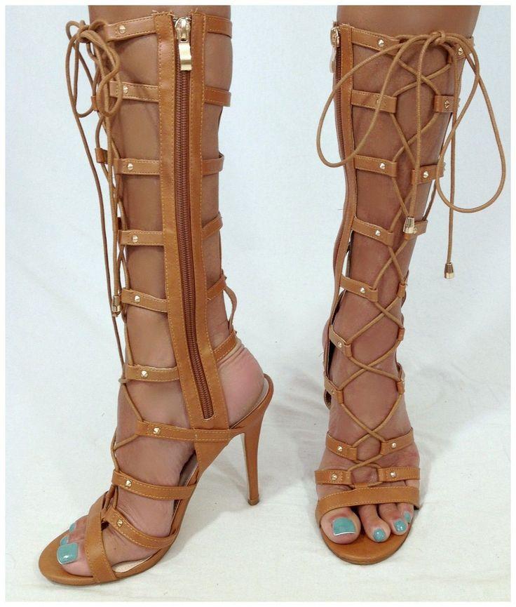 1000  images about knee high gladiator sandals on Pinterest  Tom