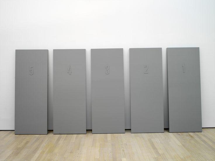 Alighiero Boetti, Senza titolo (porte), 1966