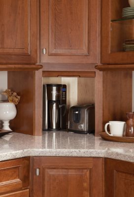 Appliance Garage   Medallion Cabinetry