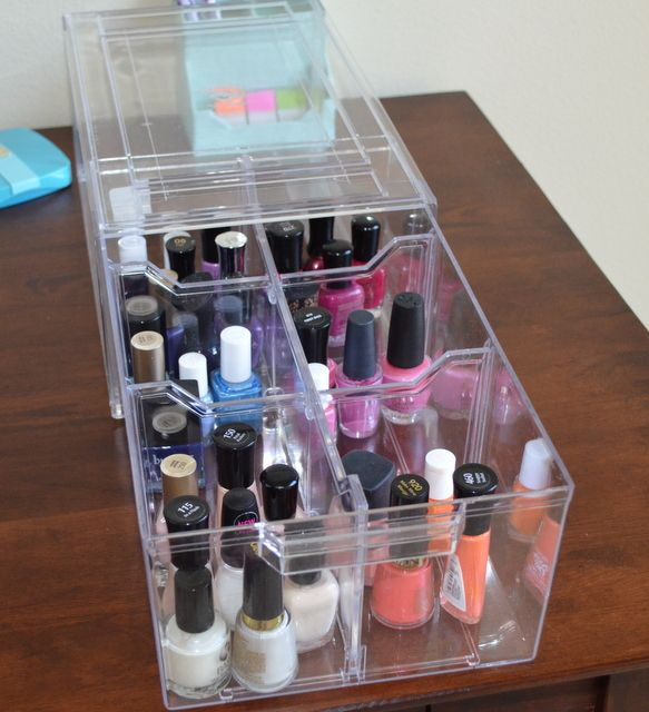 10 Useful Nail Polish Storage Ideas that You Would Love to Copy - Top Inspirations