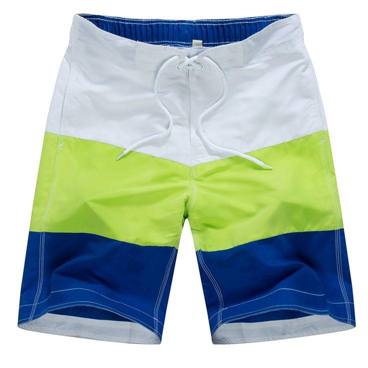 Men Surfing Shorts 2017 New Summer Swim Surf Boardshorts Breathable Mesh Cloth Lining Swimwear Beach Bermuda Shorts