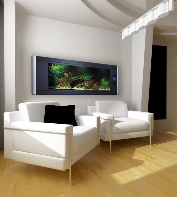 Furniture Fashion Presents 50 In Wall Aquariums   Must See Pictures And  Designs Including Built In Fresh And Salt Water Fish Tanks In Various Sizes  And ...