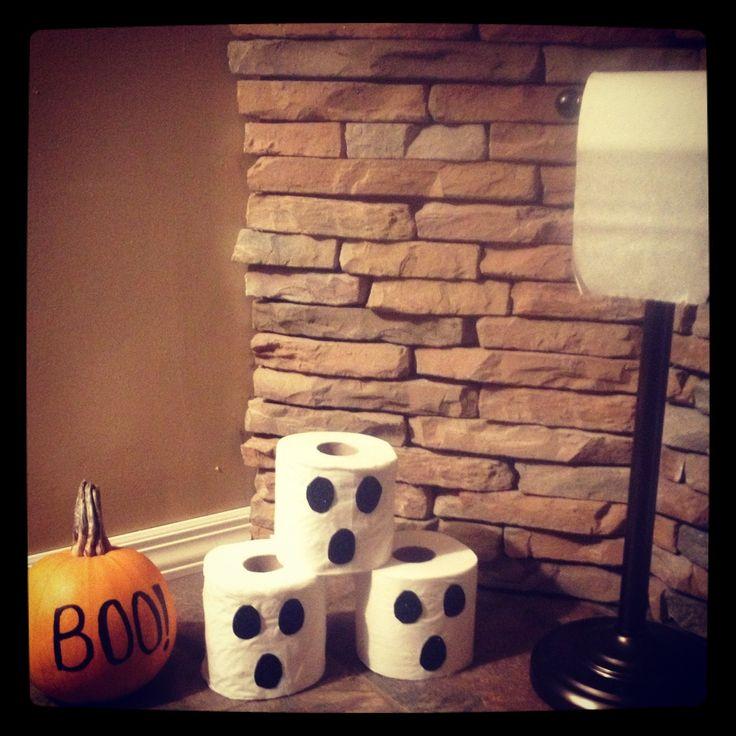 Halloween decor #DIY  idea taken from a post on Pinterest.