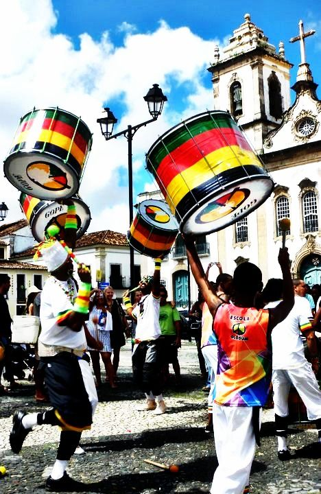 Carnaval in Salvador certainly differs from the one in Rio but it's equally as impressive. The parties known as blocos are non-stop so expect  dancing on the streets 24/7.