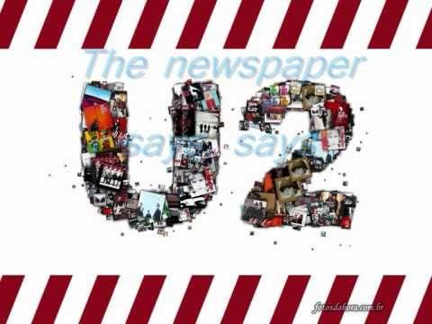 U2- new years day  (Lyrics)