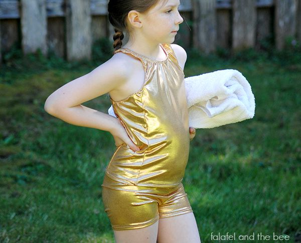 Princess Falafel and the Gold Tankini