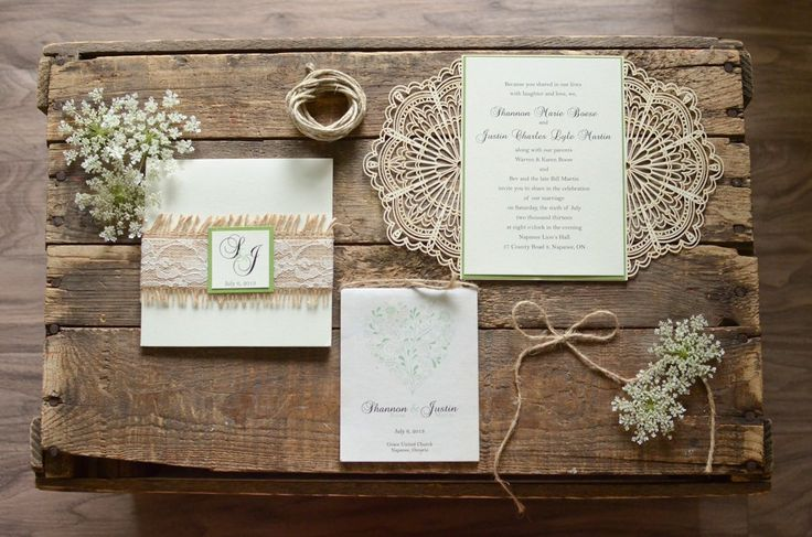Lace Themed Wedding Invitations: 797 Best Rustic Wedding Invitations Images On Pinterest