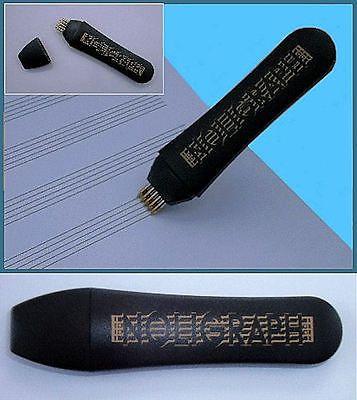 Noligraph : Notenlinienschreiber mit 5 Kugelschreiberminen