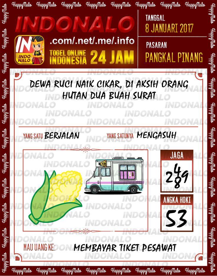 Kode Jaga 4D Togel Wap Online Live Draw 4D Indonalo Pangkal Pinang 8 Januari 2017