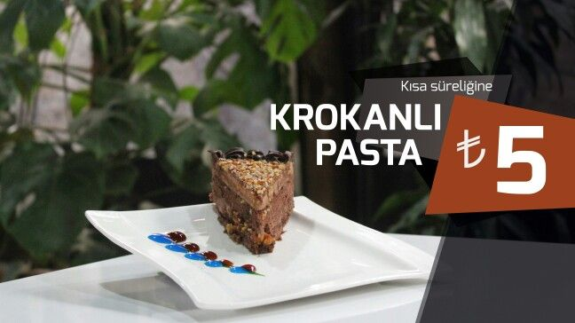 Krokanlı Pasta | OldCity Cafe & Bistro