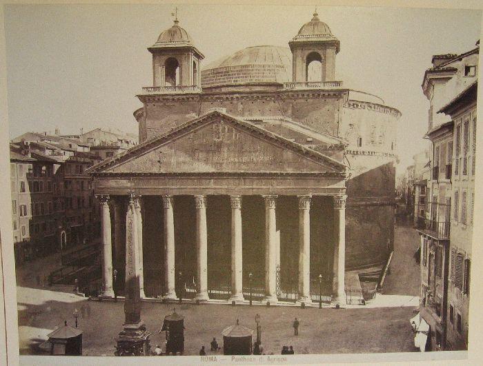 Pantheon di Agrippa 1880