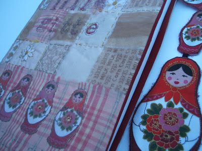 Lille Gitte: Bokomslag i tekstil