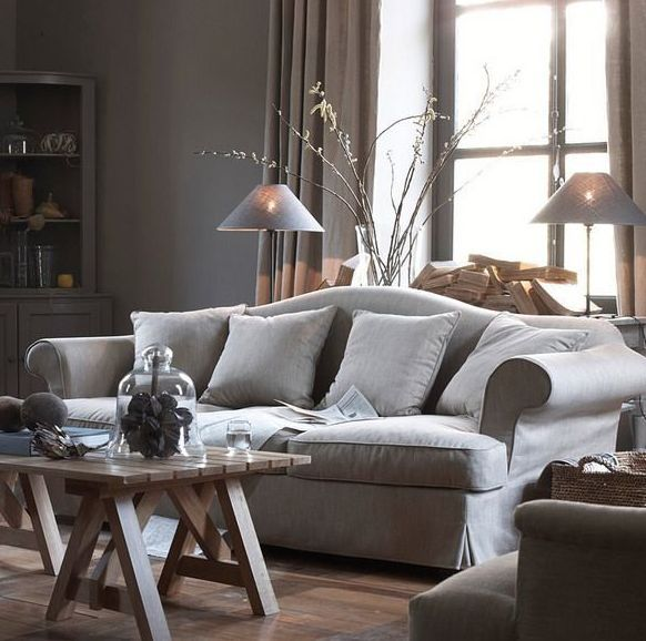 Trendy Sofa With Neo Classical Style New Classic Grey Design