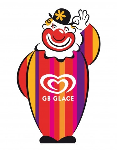 MIKAEL ERIKSSON  Character for GB GLACE ice cream company  Client: GB / Unilever  Agency: Forsman & Bodenfors