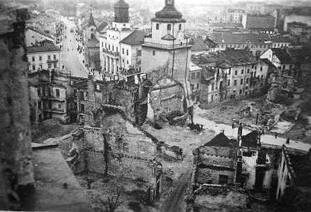 Zniszczony Lublin