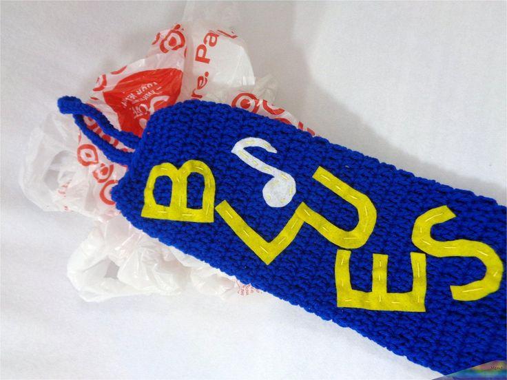 Blues plastic bag holder st louis blues inspired walmart