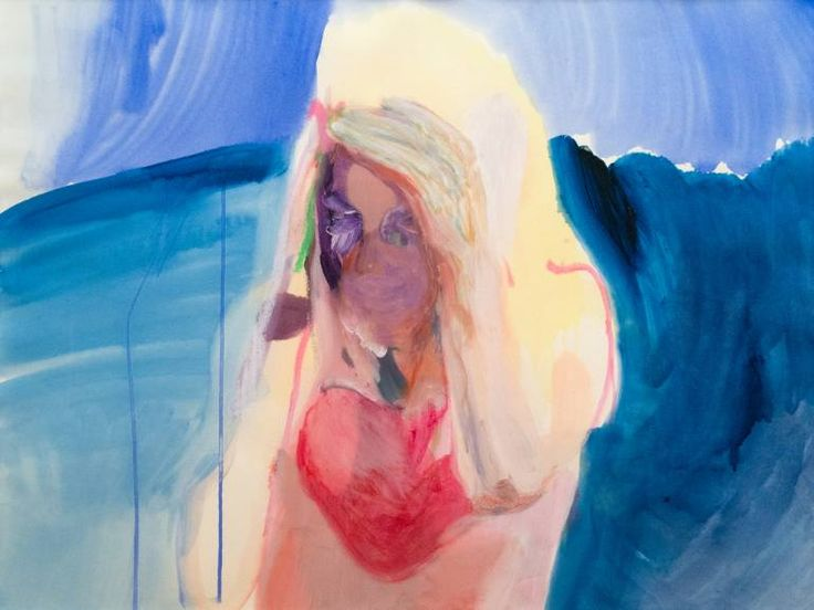 """Saatchi Art Artist Winston Chmielinski; Painting, """"some place in a middle or on the edge"""" #art"""