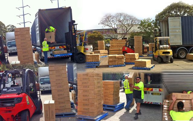 A Truck Load Of Team Work!!