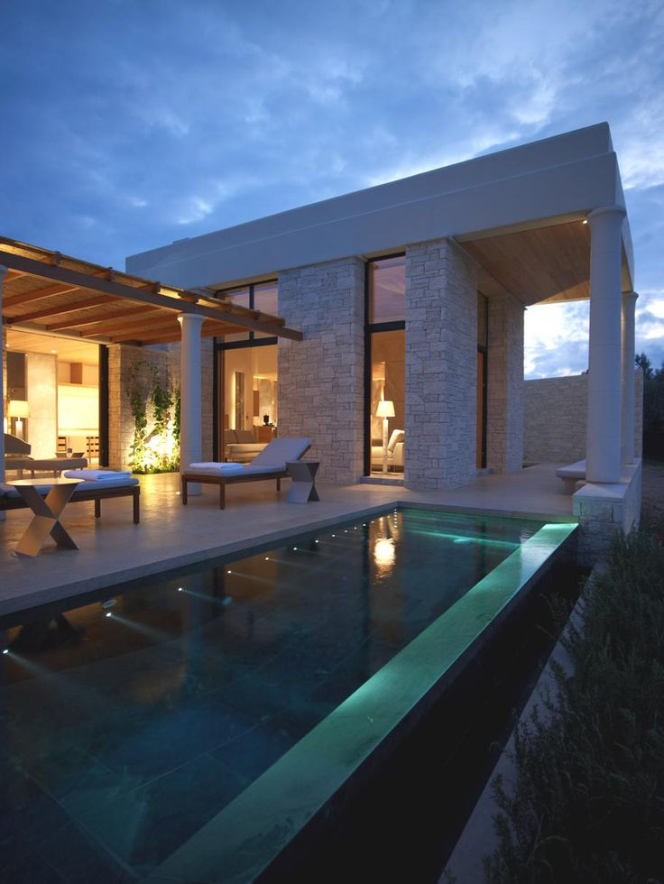Amanzoe Villas, Greece - http://www.adelto.co.uk/contemporary-amanzoe-villas-greece/#more-20256