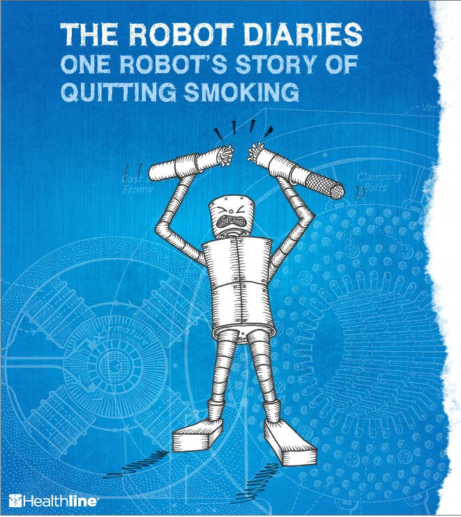 One Robot's Story of Quitting Smoking #quitsmoking #tobaccousestopshere