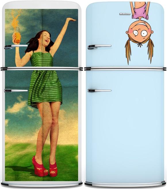 Minha geladeira vai ser assim quando eu crescer!