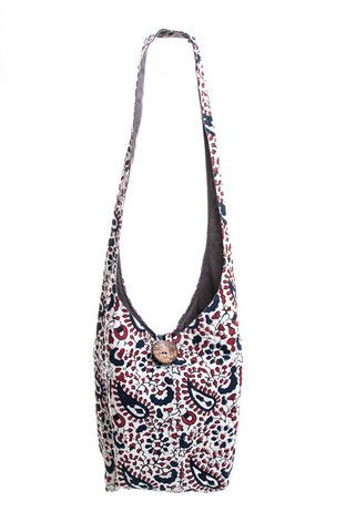 shopjoyn - 702 Classic Hippy Bag - Paisley
