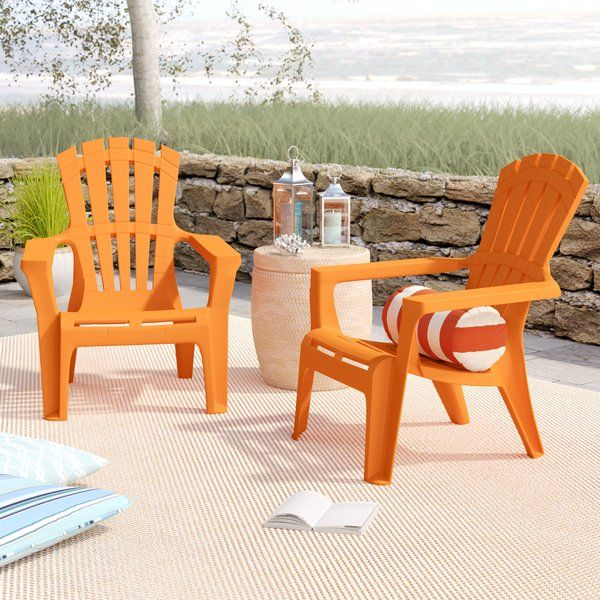 Gracelyn Plastic Adirondack Chair Plastic Adirondack Chairs