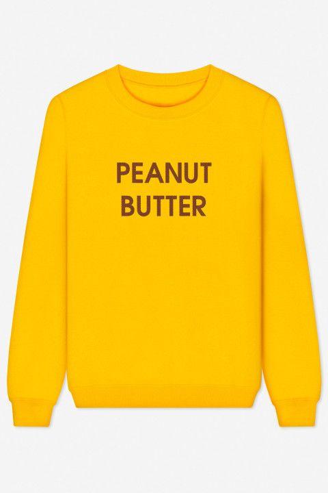 Rad   Sweater Peanut Butter – bestickt - THROWBACK EVERYDAY