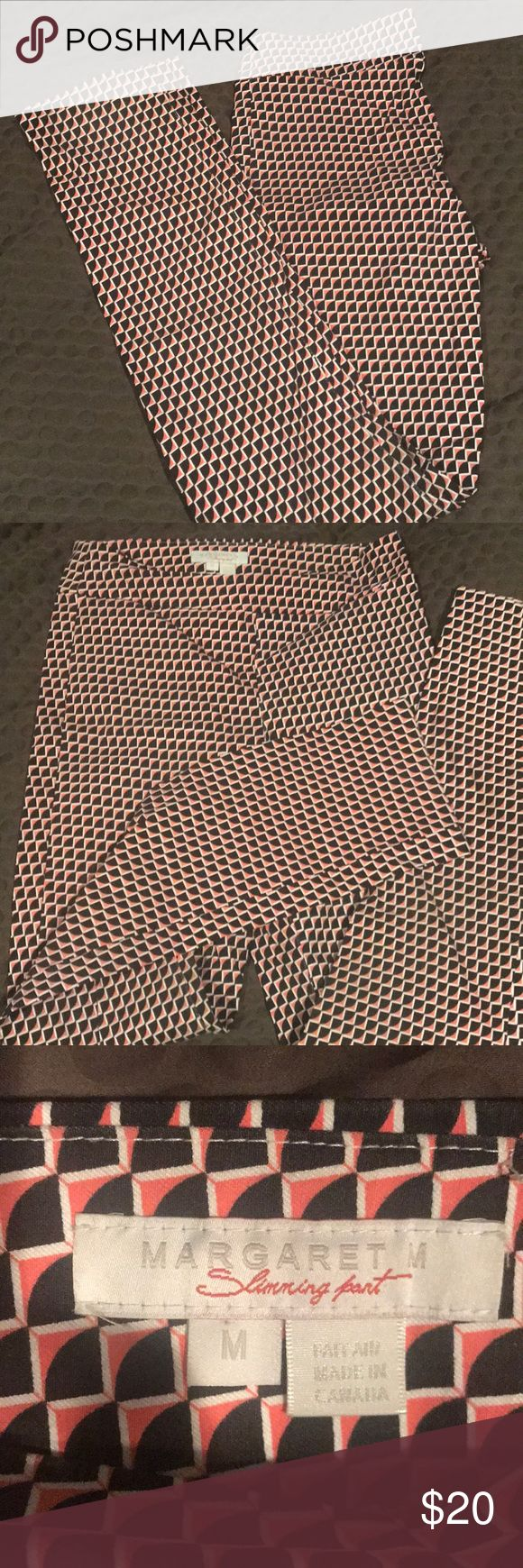 Margaret M Stitch Fix skinny pant Pull on these super comfy skinny pants and show your creative side! Love the geometric pattern and so comfortable to wear margaret M Pants Skinny