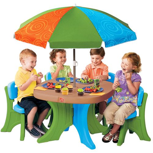I Love This For The Kids  Especially With The Umbrella   Walmart  $65 Step2  · Patio TablesPatio ... Part 62