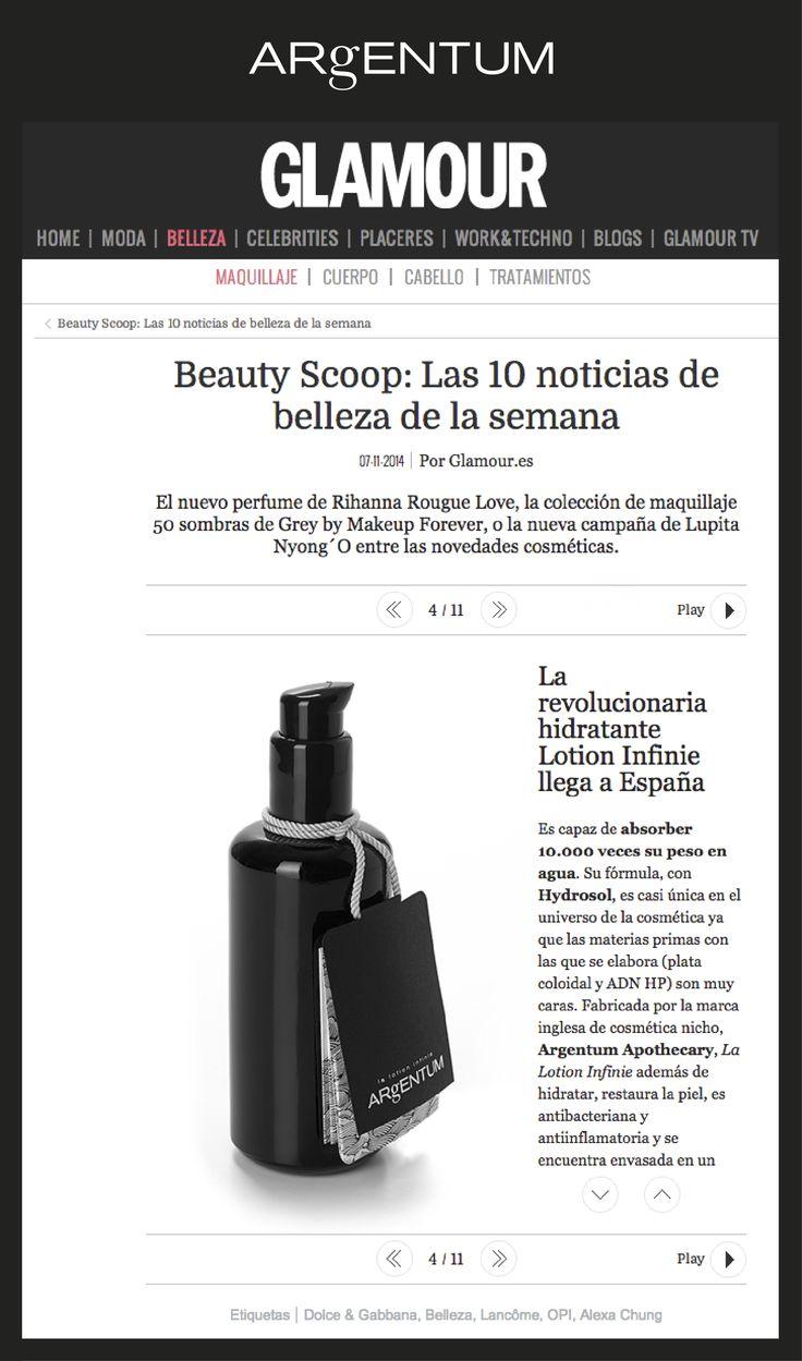 la lotion infinie ~ featured on Glamour España