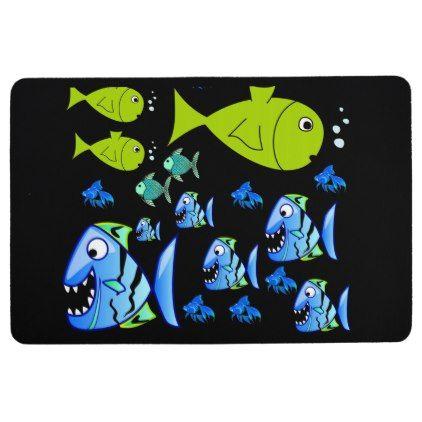 Floor Mat Fish - bathroom idea ideas home & living diy cyo bath