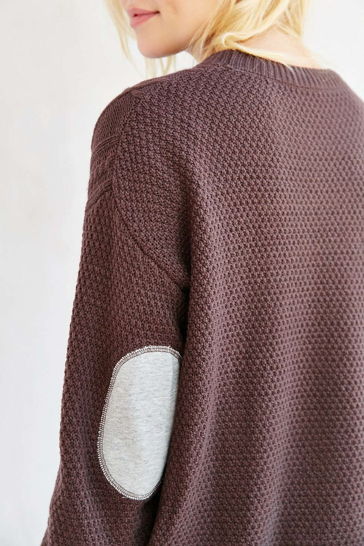 BDG Elbow Patch Sweater