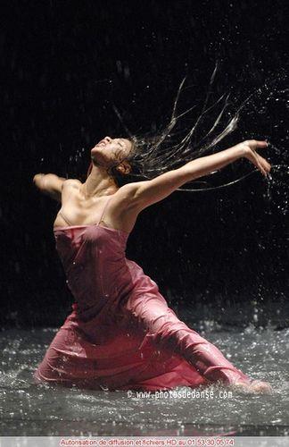 Dance is passion. Pina Bausch dancer.