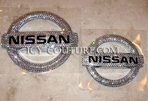 Bling-Bling!: ) Swarovski Crystal NISSAN emblem - Whats your color? Select Your Set