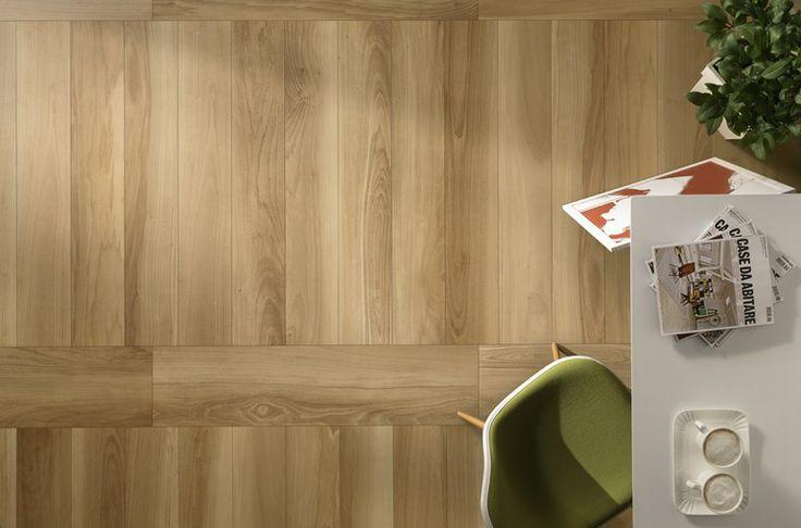 Pavimento effetto legno LIFE by Ceramiche Caesar