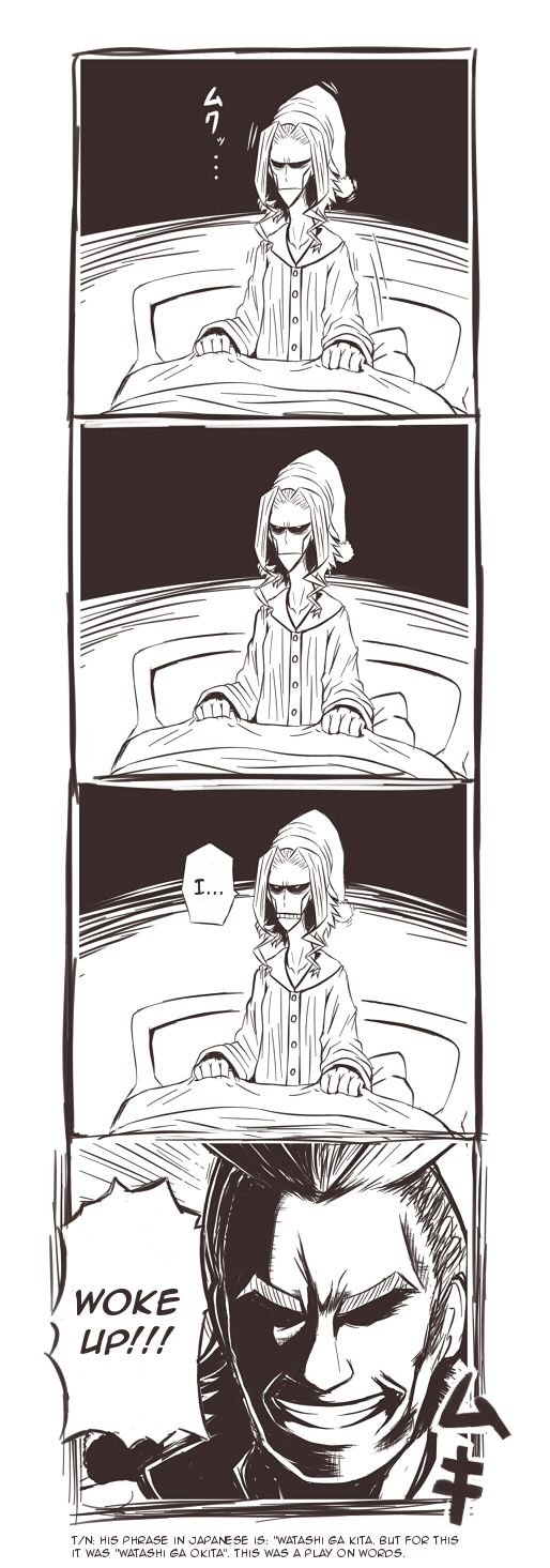 Hello everyone! This time it's a little comic that I thought was funny/stupid. As said before, if anyone wants something translated, message me or let me know. Don't mind most things to translate! :) Source:...