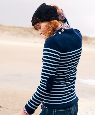 SAINT JAMES BOUTIQUE Official Website French clothing Nautical stripe