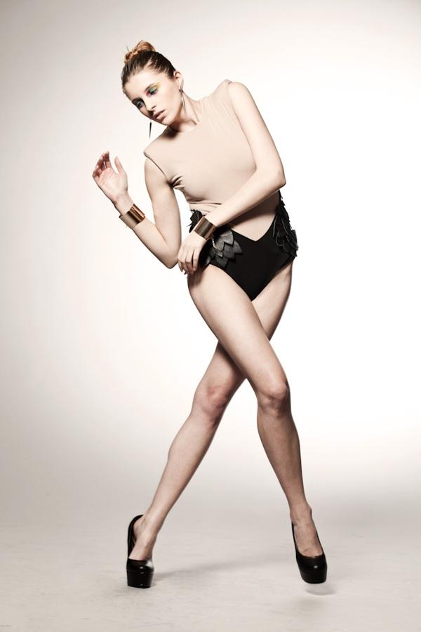 HARSH NUDE  Photo: Piotr Bramora  Model: Gosia Janusic (Fashion Color)  MUA :Karolina Ciochoń   Style & clothes: Elena Ciuprina