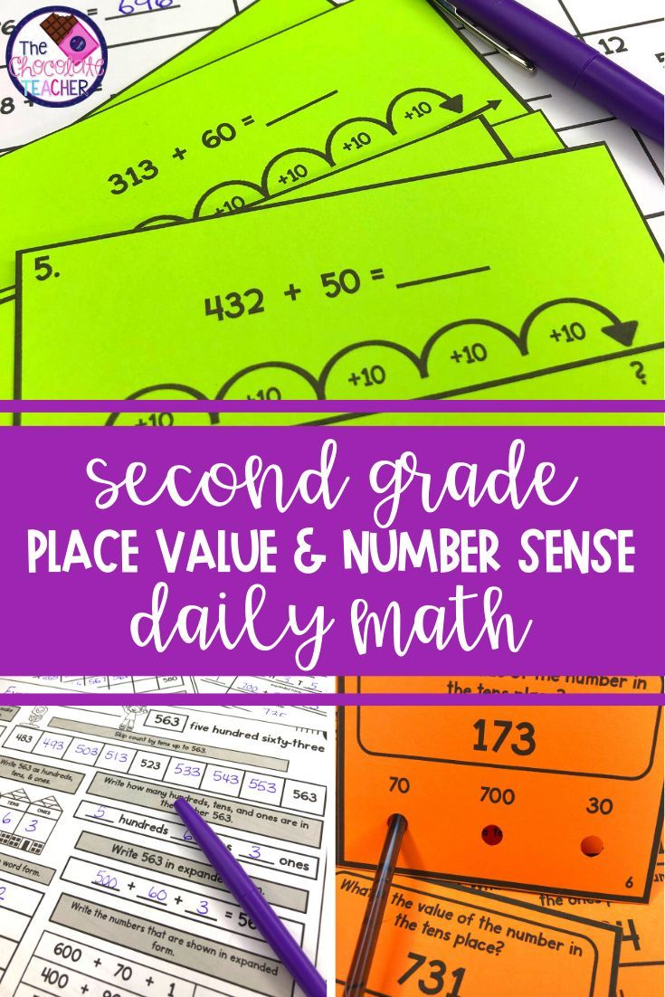 Daily Place Value Practice Is Important For Elementary Students This Daily Work Unit Includes 20 Worksheet 2nd Grade Math Place Values Number Sense Worksheets [ 1102 x 735 Pixel ]