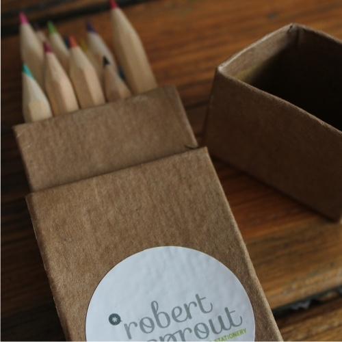 Eco friendly colouring pencils www.robertsprout.co.za