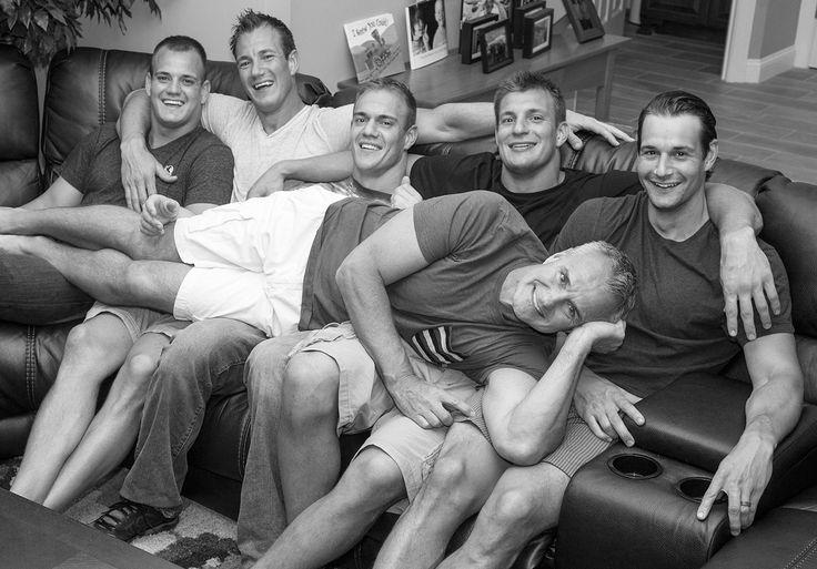 How Rob Gronkowski's Dad Raised America's First Family of Jocks