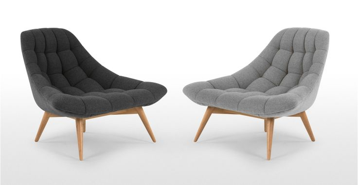 Kolton Chair, Kestrel Grey | made.com